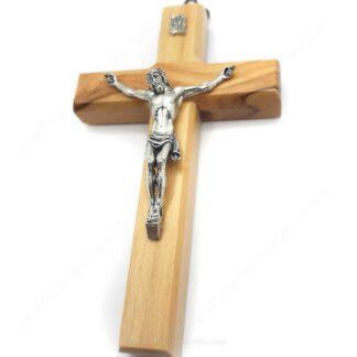 CR01 Crocifisso in legno d'ulivo